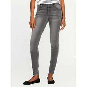Old Navy Jeans - NWT Old Navy 6L Super Skinny Mid-Rise Gray Jeans